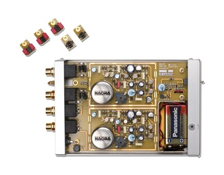 nagra bps 电池供电唱头放大器